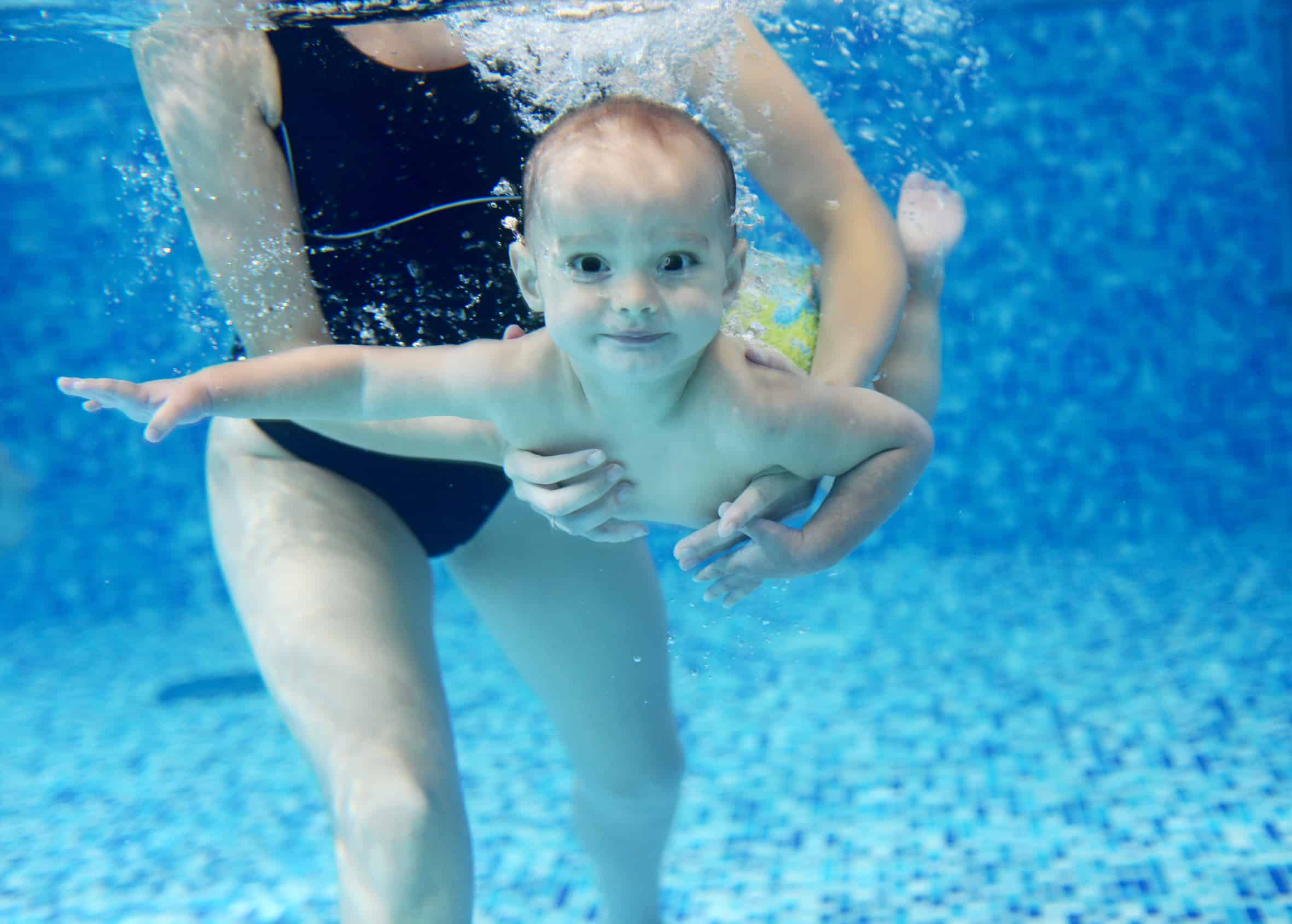 when to take a baby swimming