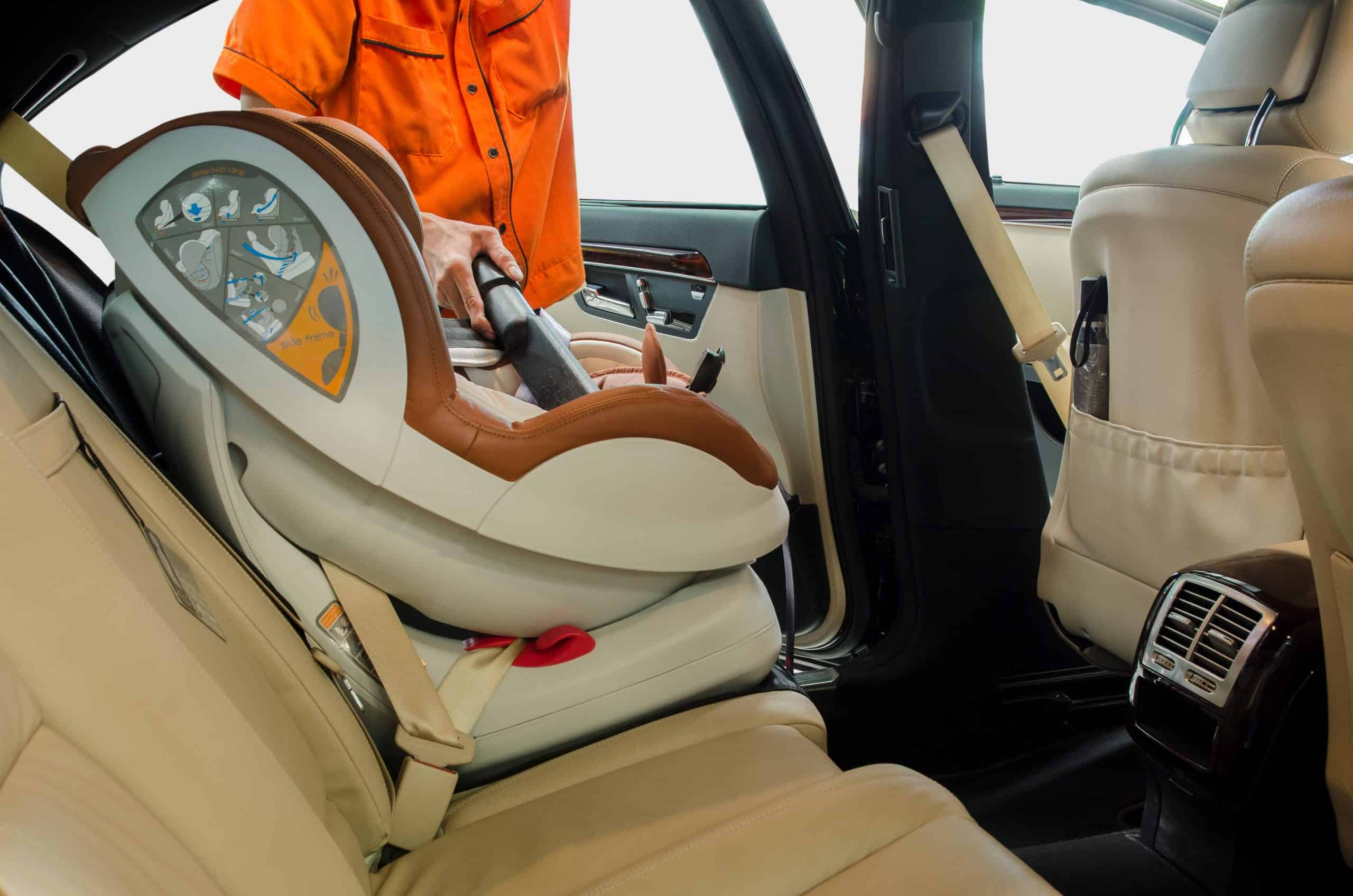how to clean a car seats