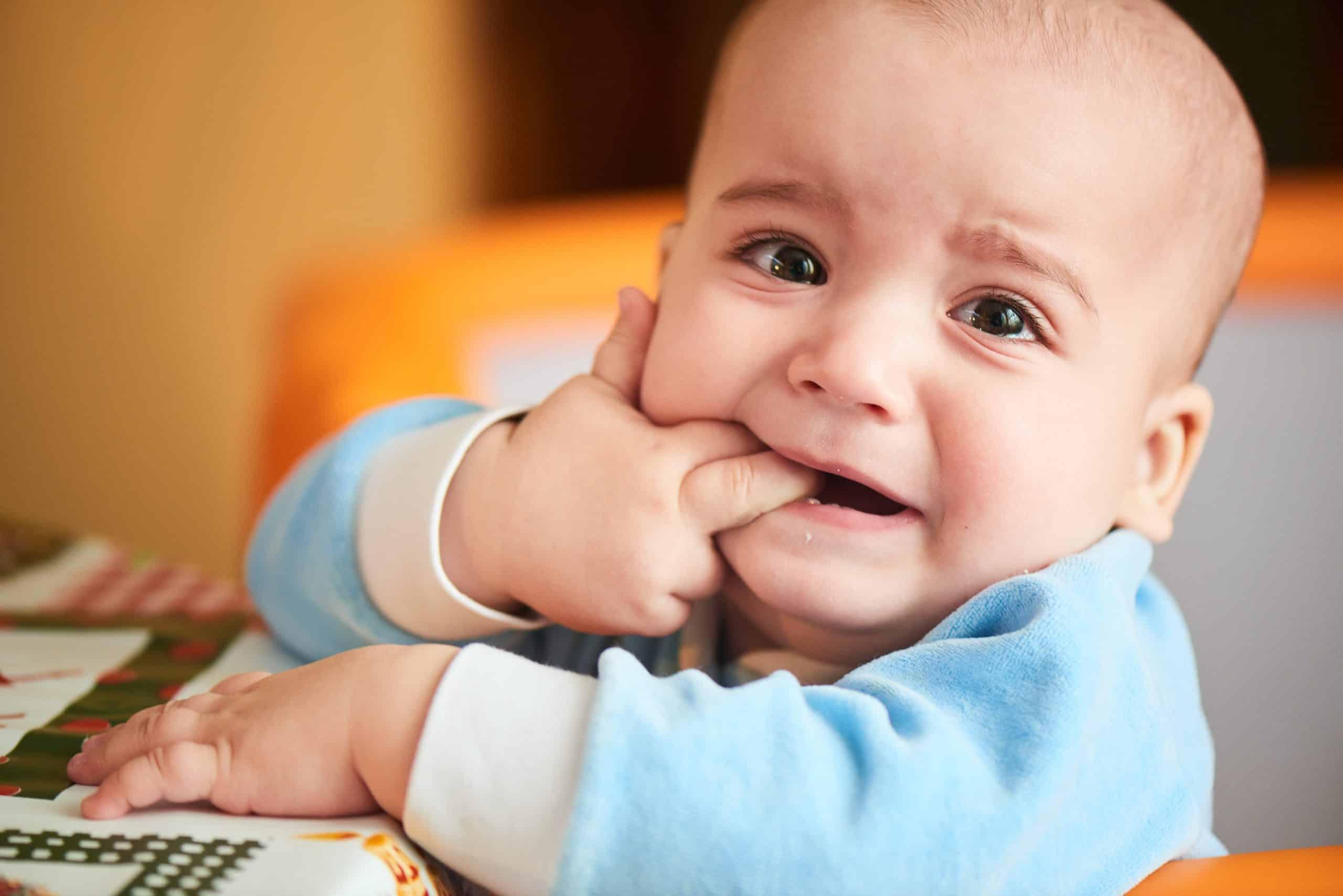 when do babies start teething